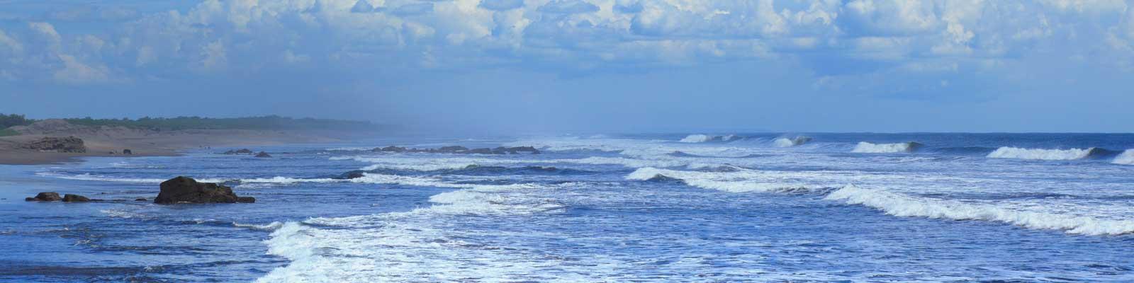 Nicaragua Praias Oceanos  casas, apartamentos, vilas, duplex, andares.